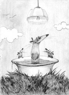 Крысёнок Карасик