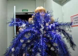 Новогоднее украшение - Пальма