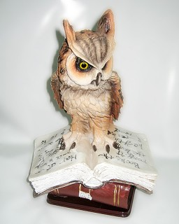 Символ мудрости - филин