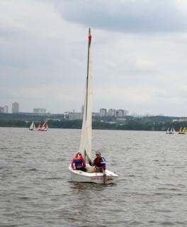 Паша Туголуков и Альбина Хасанова на гонках