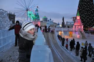 Ледовый городок 2012
