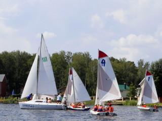 Наши яхты - WalkerBay, кадет, микро на озере Увильды