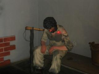 Скульптура раба фальшивомонетчика
