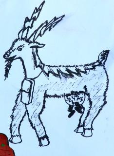 Электрическая коза