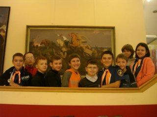 Флагманята в краеведческом музее