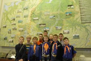 Флагманята в музее РЖД