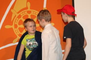 Егор (Ёж) Миронов с друзьями - в театральной миниатюре