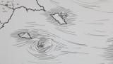 Фрагмент карты Острова Сокровищ