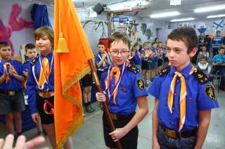 Первая Знаменная группв. Слева направо - Денис Матушкин, Андрей Эйва, Тимур Герасимов