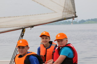 Егор (Ёж) Миронов с экипажем