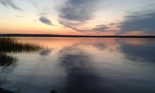 Рассвет на Акакуле (фото Ежа Миронова)