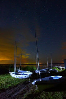 Наши яхты на Акакуле ждут нового дня