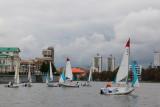 Наши яхты на городском пруду 19.09.2015