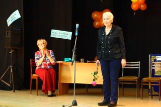 Евгения Ивановна и Татьяна Михайловна на сцене