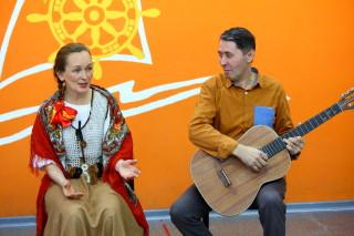 Наталья и Андрей Патокины в отряде