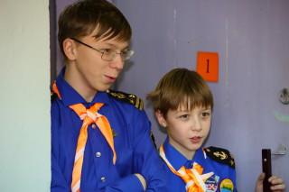 Капитан Влад Минин и подшкипер Федя Чертов