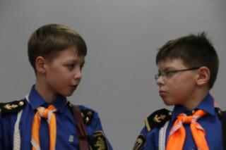 Федя Чертов - слева