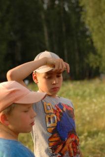 Никита Конев - справа
