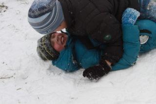 Сражение Феди и Артёма (фото Ильи Копылова)