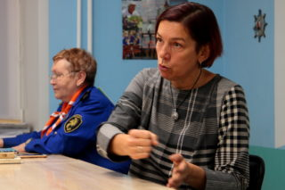 Встреча флагманят с Ольгой Борисовой